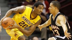 Marcus Tyus had 11 points and 5 rebounds against the Gophers in 2013-2014